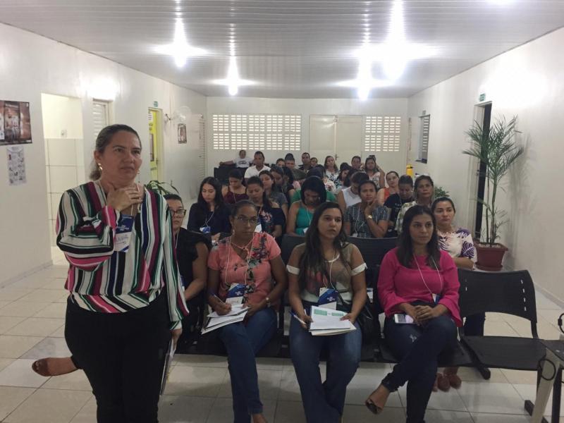 Demerval Lobão | Profissionais da saúde participam de capacitação
