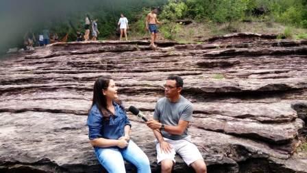 Equipe da TV Clube visita pontos turístico de Alto Longá