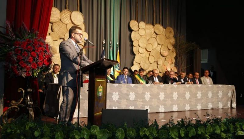 Zé Raimundo destaca avanços do município de Oeiras durante solenidades