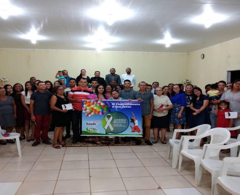 Simplício Mendes | SMS e CAPS realizam ações em alusão ao 'Janeiro Branco'