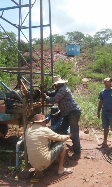 Famílias na localidade chapada do Mororó em Pedro Laurentino estavam sofrendo com a falta d'água
