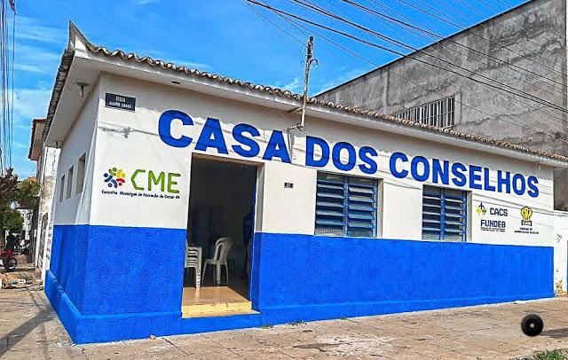 Prefeitura de Cocal entrega a 'Casa dos Conselhos' aos conselheiros