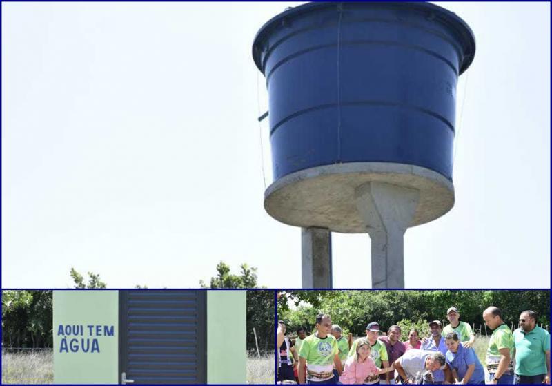 Inauguração do Sistema de Abastecimento de Água na localidade Garrafão