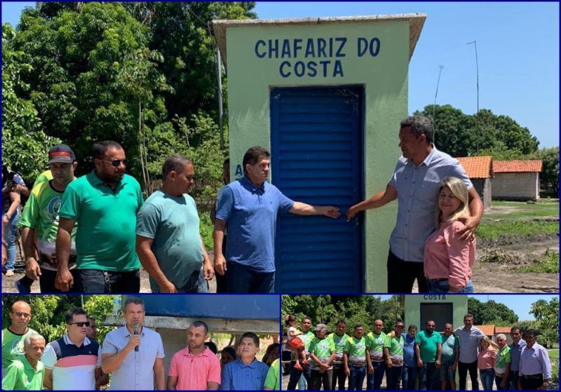 Inauguração do Sistema de Abastecimento de Água no Povoado Costa