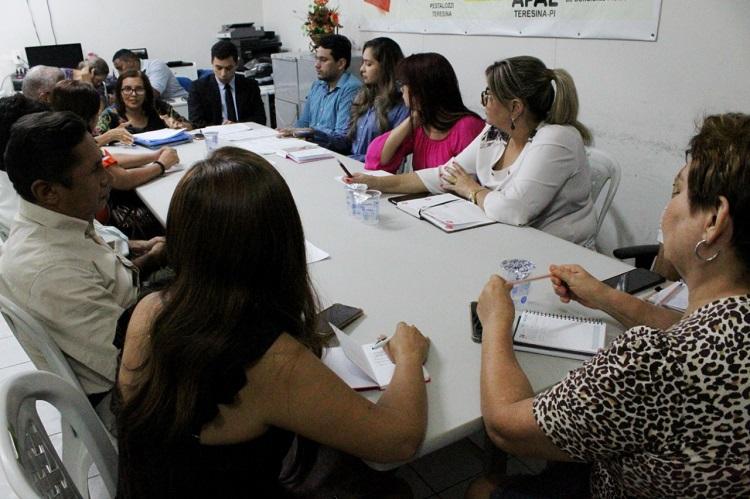 Comissão da OAB-PI participa de posse e fiscaliza eleições do CONADE-TE