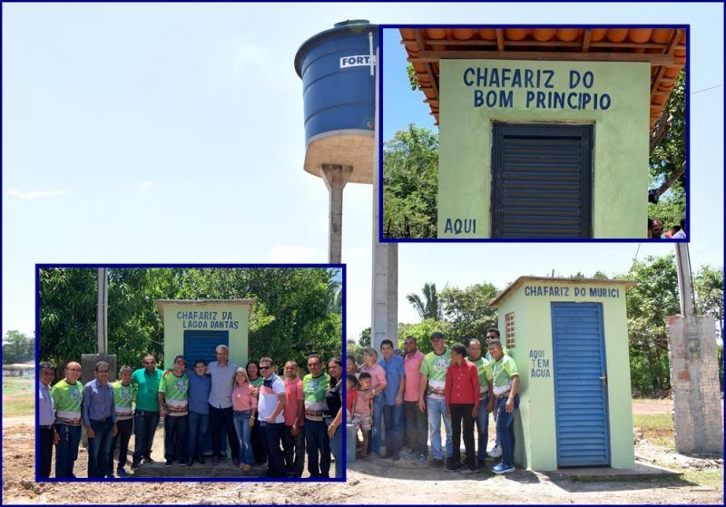 Inauguração de Sistemas de Abastecimento de Água  zona rual de Campo Largo