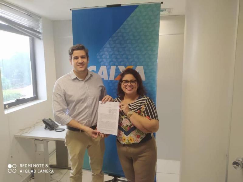 Prefeitura de Altos firma convênio para calçamento em vias públicas