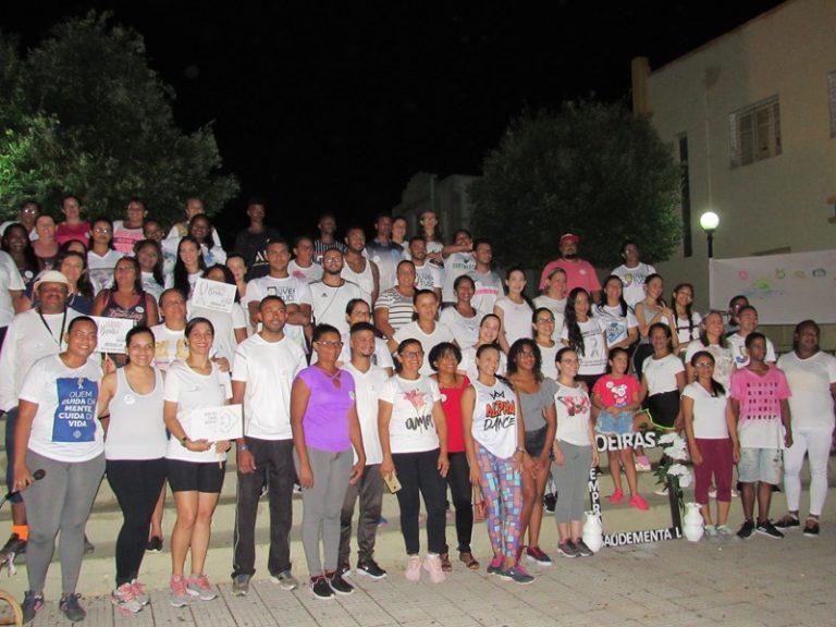 Oeiras | Janeiro Branco promove ações de conscientização sobre Saúde Mental