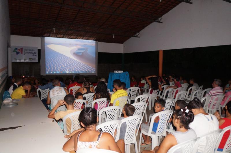 Água Branca: Cine Itinerante leva cultura para comunidade Nova Esperança