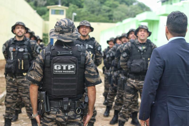 Grupo Tático Prisional é criado para atuar em presídios do Piauí