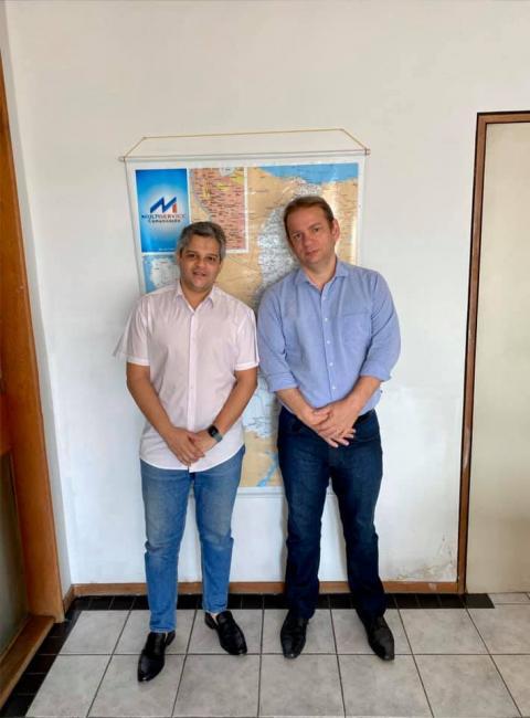 Prefeito de Miguel Leão se reúne com diretor do DER-PI