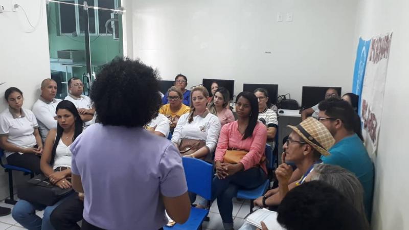 Barro Duro trabalha a Campanha e leva orientações sobre a Hanseníase