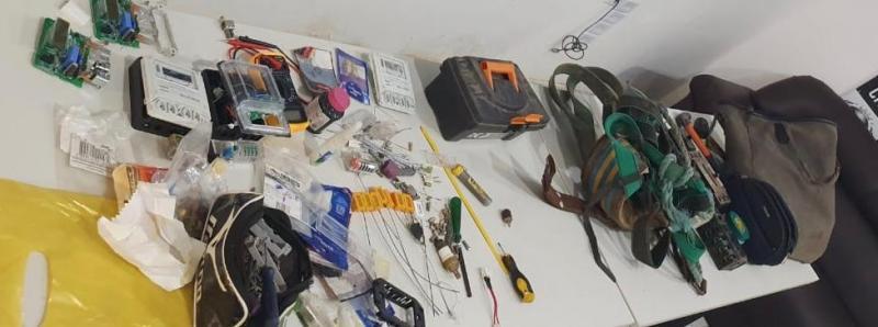 Greco prende homem pela 3ª vez por furto de energia em Teresina