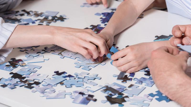 Veja o que acontece ao cérebro quando faz um quebra-cabeças
