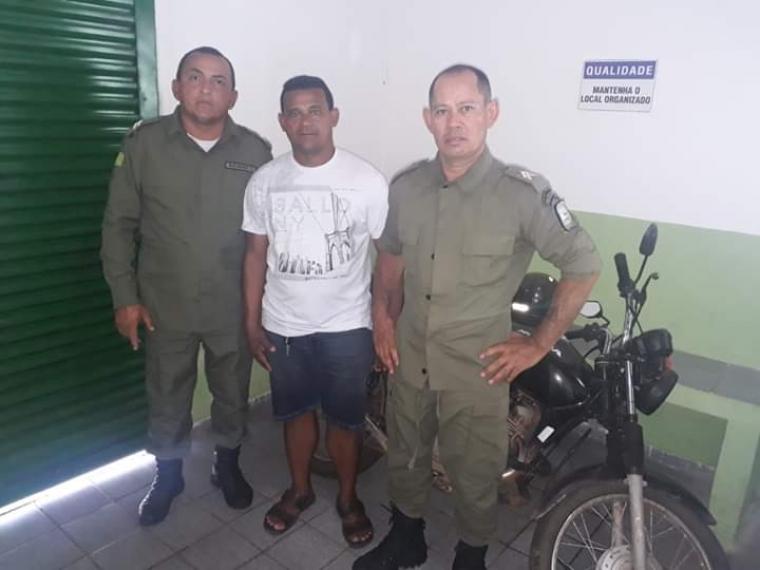Moto roubada em Cabeceiras é recuperada em Lagoa Alegre-PI