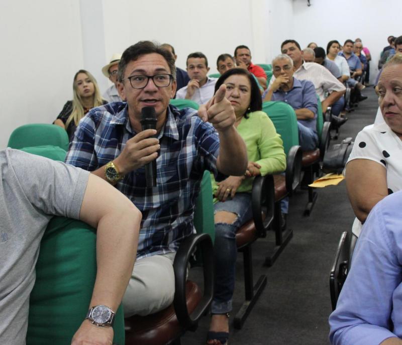 Paulo César participa de reunião sobre cofinanciamento da Saúde na APPM
