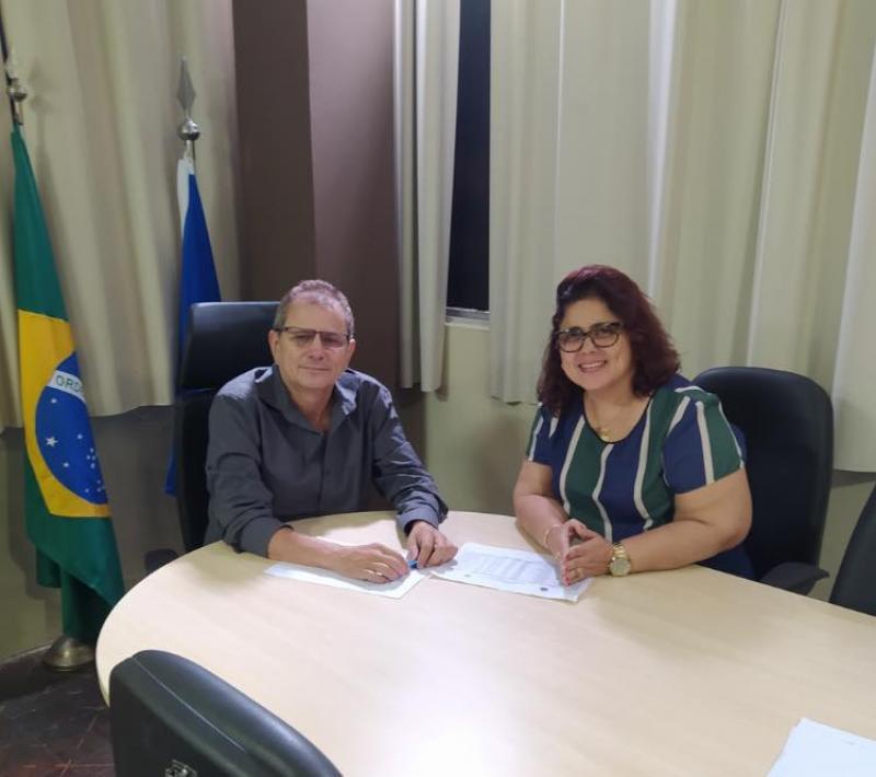 Prefeita Patrícia Leal se reúne com diretor do DNOCS para debater melhorias