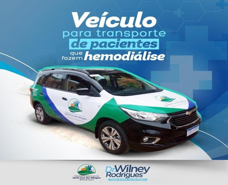 Prefeitura faz aquisição de veículo para a secretaria de Saúde