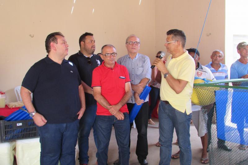 Nazaré do Piauí ganha Kits de Psicultura