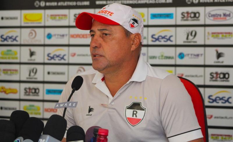 Márcio Goiano — Foto: Victor Costa/River AC