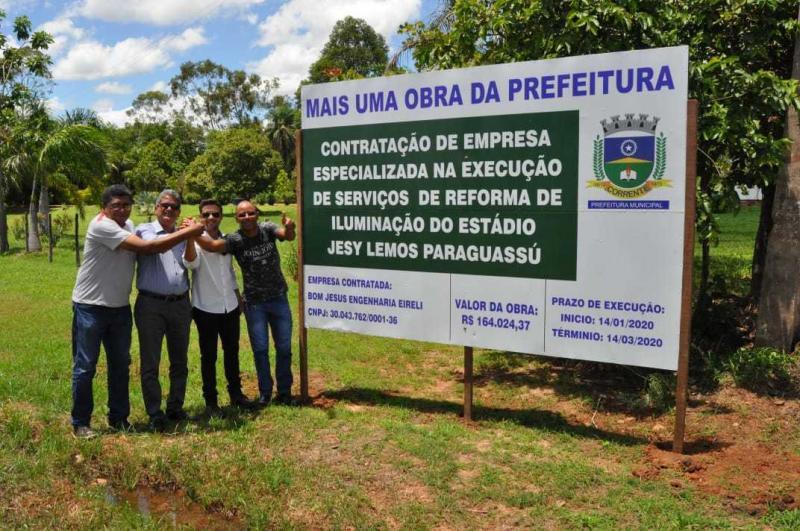 Prefeitura de Corrente contrata empresa para reformar estádio do município
