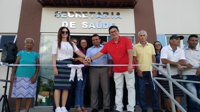Prefeitura de Francinópolis inaugura Centro de Saúde do Município