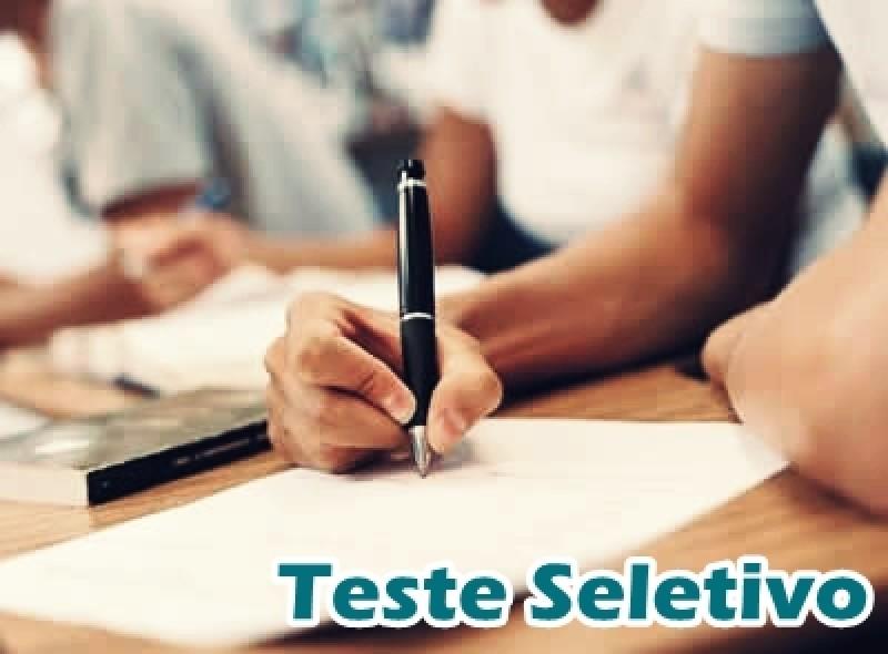 Disponível resultado preliminar das provas do Teste Seletivo de Floriano