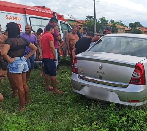 Jovem de 32 anos morre após acidente entre moto e carro no norte do Piauí