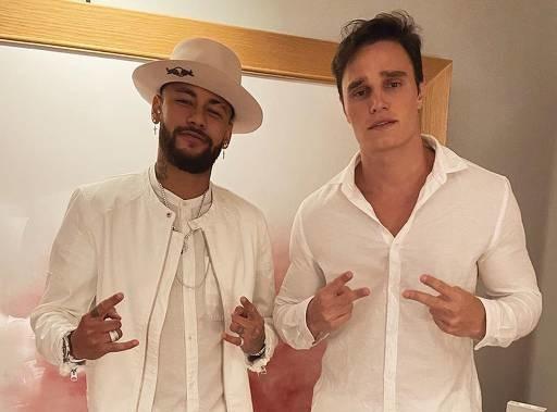 Neymar comemora aniversário de 28 anos e reúne famosos em Paris
