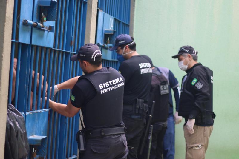 Sejus realizou Operação 'Pignus' em presídios do Piauí