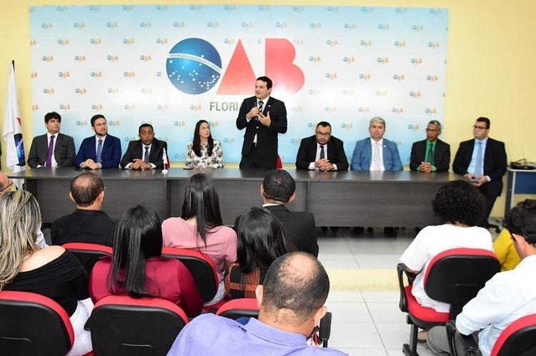Advocacia de Floriano recebe 'Caravana de Direito Eleitoral' da OAB Piauí