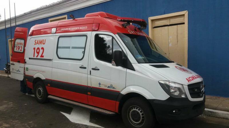 Nova ambulância do SAMU já se encontra em Amarante