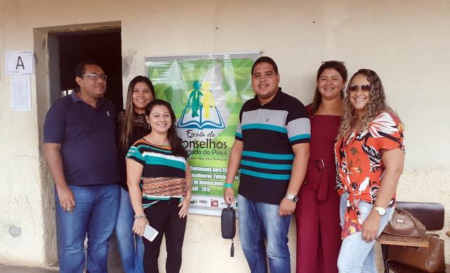 Conselheiros de Cocal participam de curso de formação em Piripiri