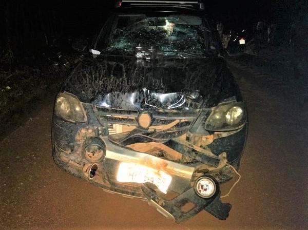 Colisão frontal entre carro e moto deixa homem morto no Piauí