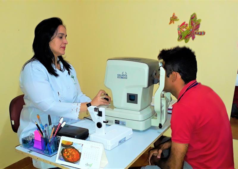 Prefeitura Municipal de Joaquim Pires está realizando a semana de saúde visual