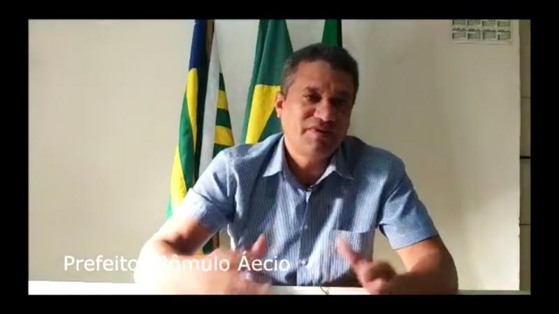 Prefeito Rômulo Aécio esclarece matéria feita por emissora de TV do Piauí