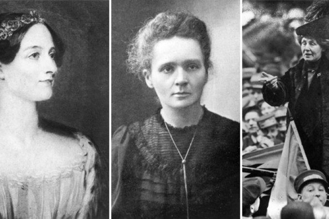 Pesquisa aponta quem são as mulheres mais importantes da história mundial