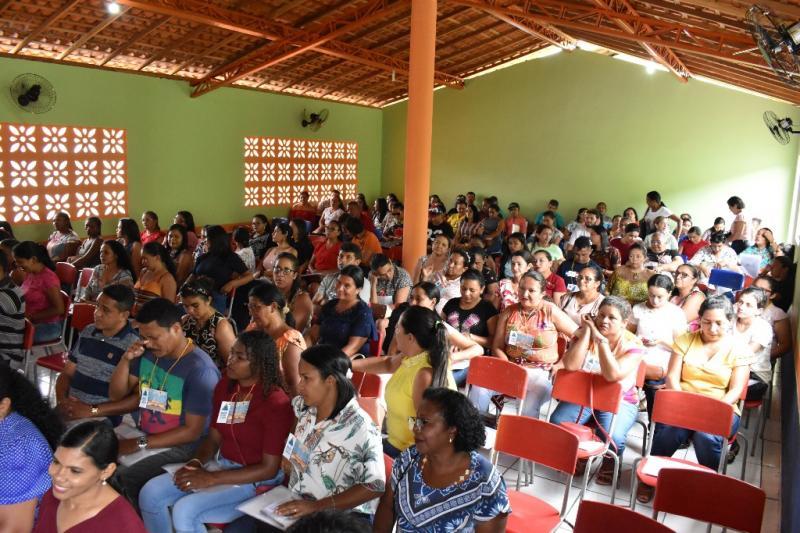 Abertura da Jornada Pedagógica em Campo Largo do Piauí-PI