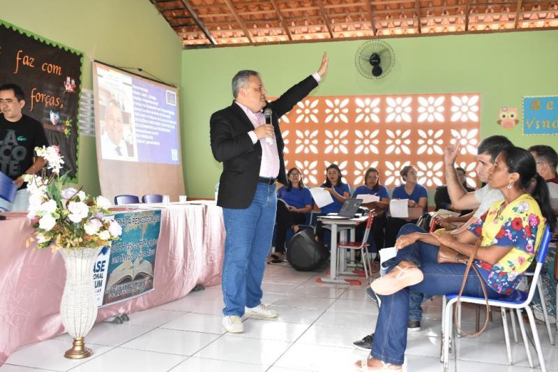 Pierre Perensim faz palestra emocionante na Jornada Pedagógica 2020
