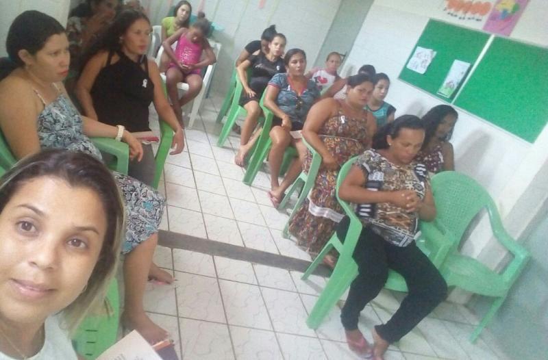 Cras de Olho D'água promove reunião em alusão à Campanha Janeiro Branco