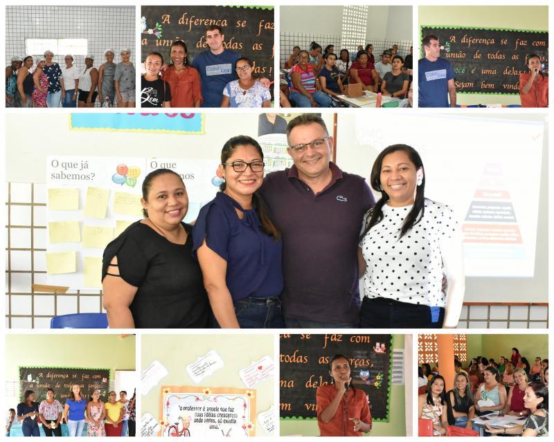 Segundo dia de Jornada Pedagogia em Campo Largo do Piauí-PI