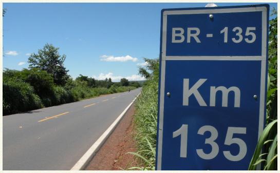 BR 135 no Piauí está no ranking das piores ligações rodoviárias do Brasil