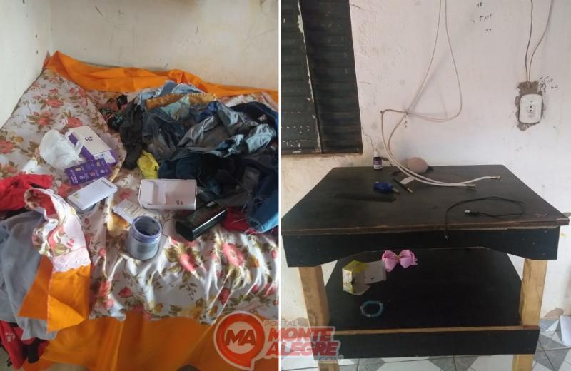 Morador tem objetos roubados de sua residencia na noite de ontem 6