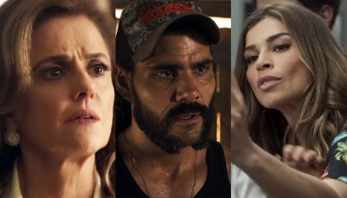 Sophia descobre que Lívia sai com Mariano e ameaça filha em 'O Outro Lado do Paraíso'