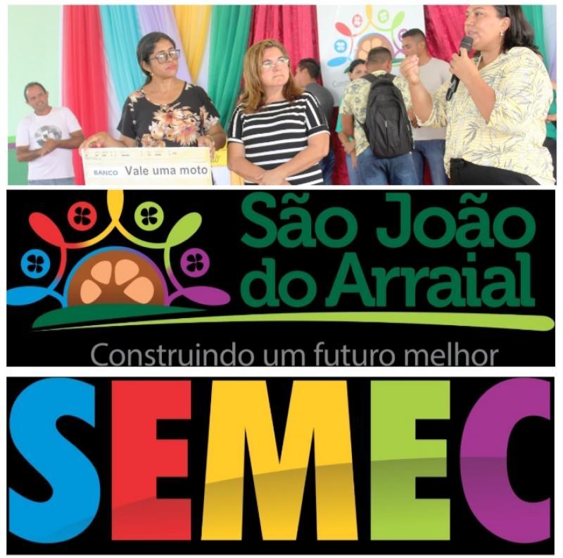 Prefeitura de São João do Arraial sorteou R$ 7.000,00 para estudante do EJA