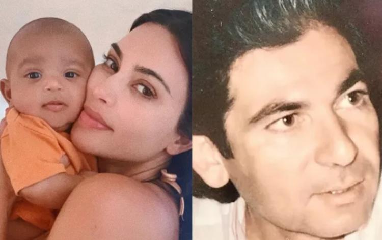Kim Kardashian acredita que filho caçula é reencarnação de seu pai