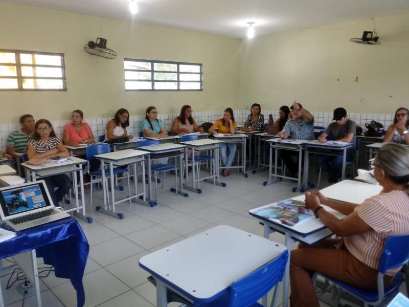 Secretaria Municipal de Pau D'arco do PI realiza jornada pedagógica