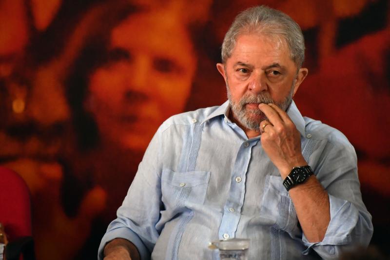 Lula (AFP PHOTO / Nelson Almeida)