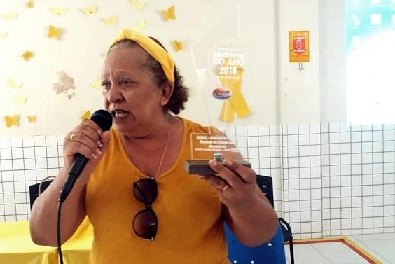 Secretária de saúde, Rosimar de França Lima | Foto:Valter Lima