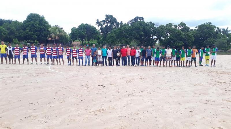 Cajazeiras-PI dá início ao V Campeonato de futebol do povoado Caldeirão